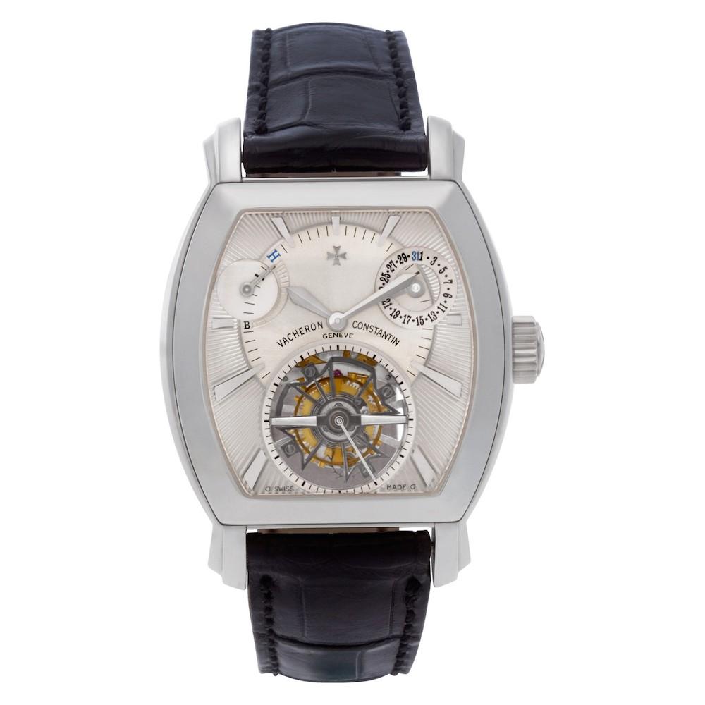 Platinum Vacheron Constantin Malte Tourbillon Watch