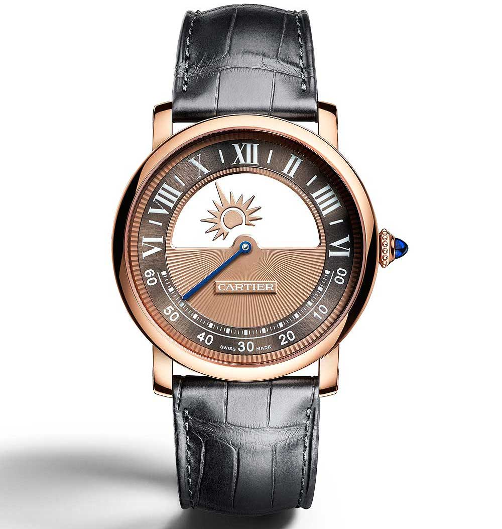 Pre SIHH 2018 Cartier Rotonde de Cartier Mysterious Day & Night