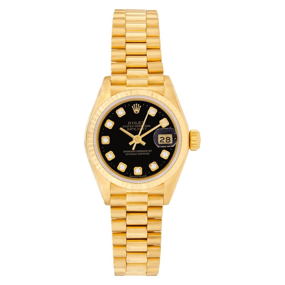Best Luxury Watches for Women: Rolex Datejust 69178