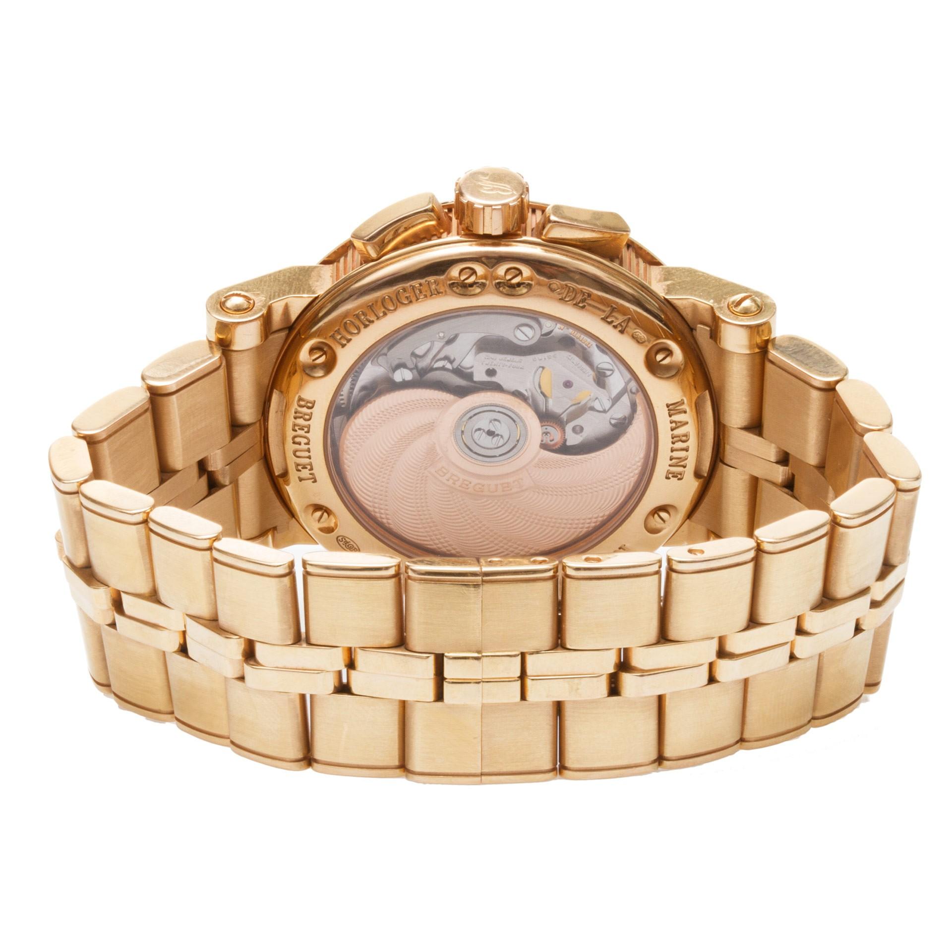 Breguet Watches: Marine Chronograph 5827
