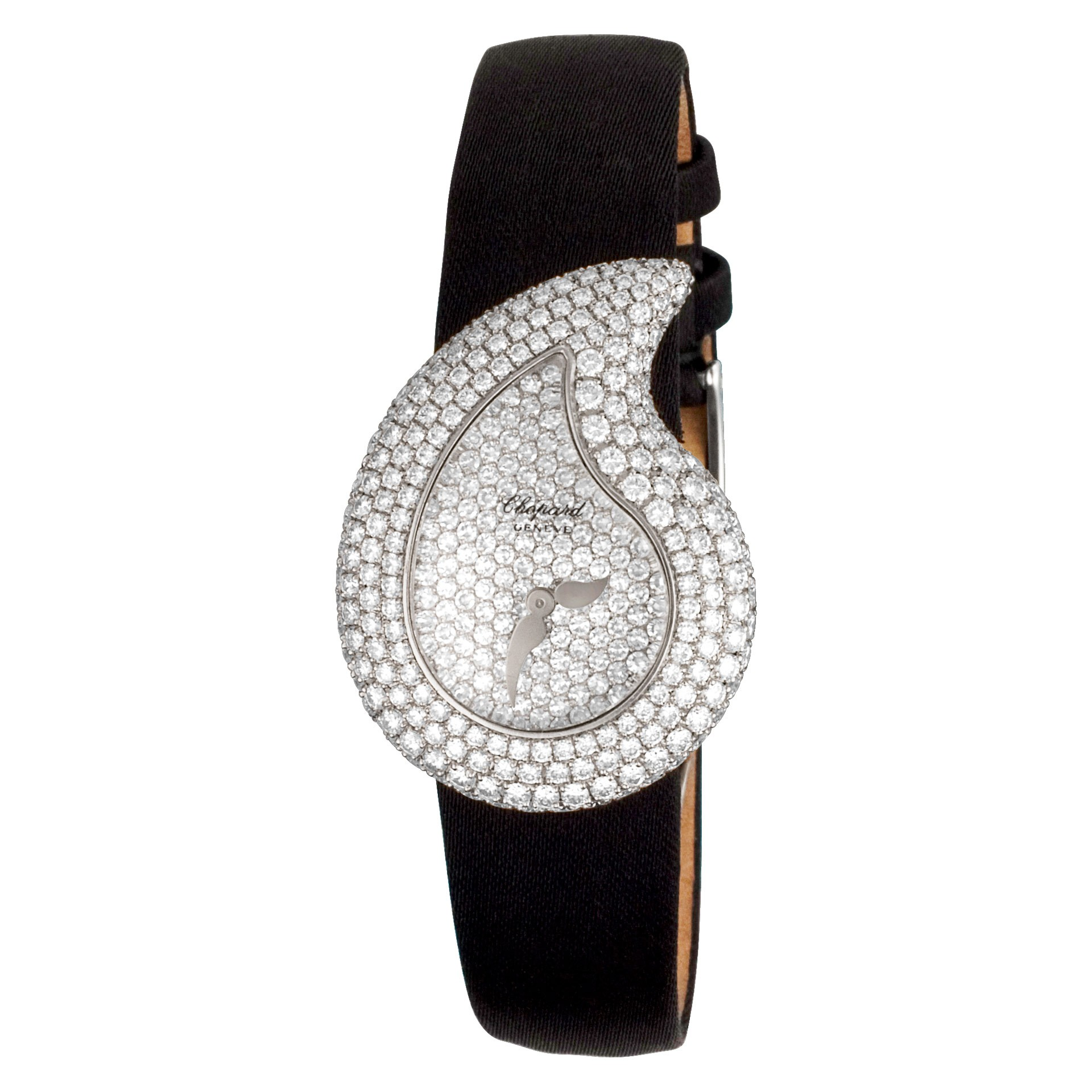 18k white gold Chopard Casmir