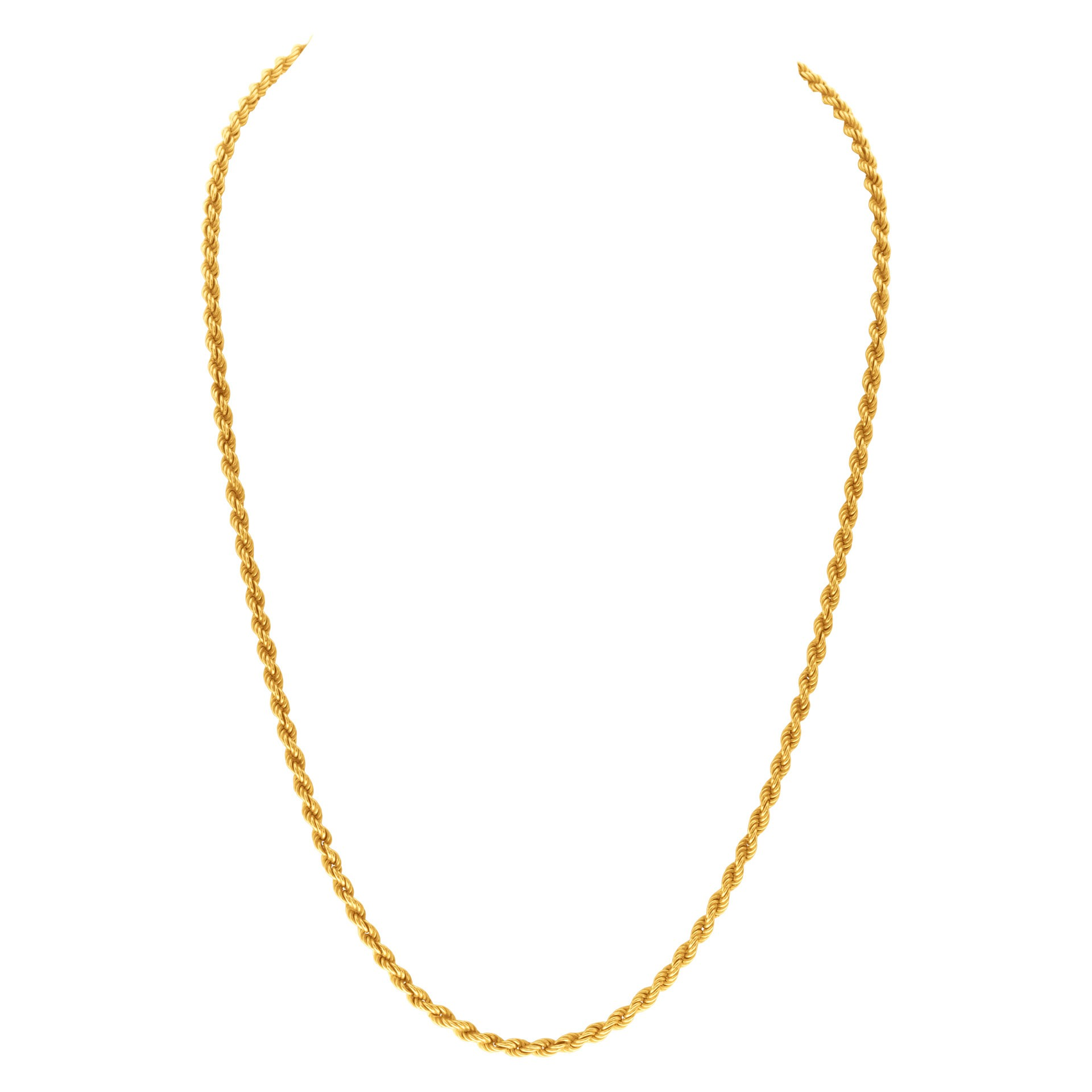 Fine Jewelry for Less than $1000: Yellow Gold Chain