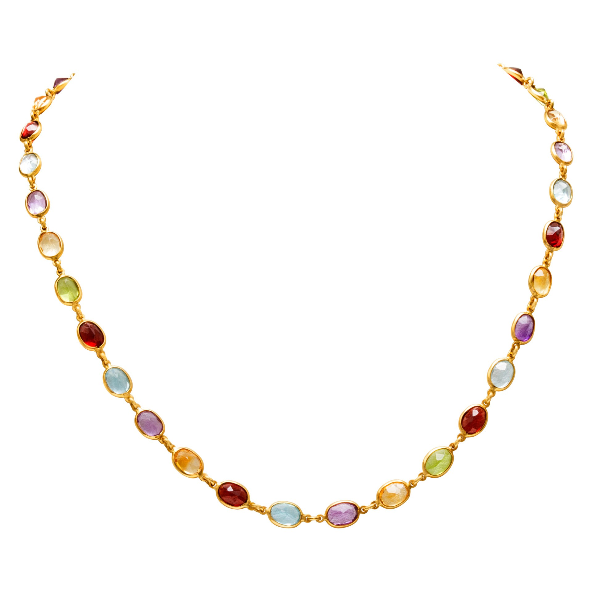 Fine Jewelry for Less than $1000: Semi-Precious Stones Necklace