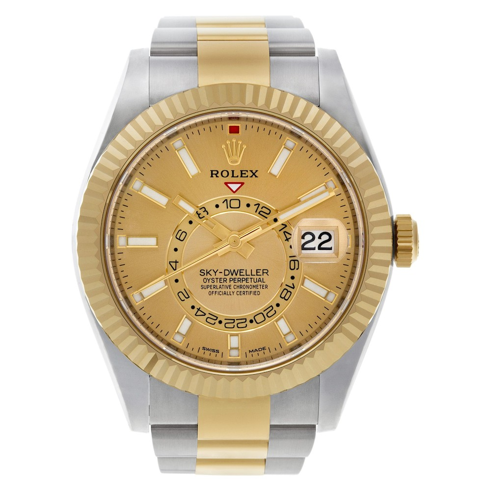 Rolex Two-Tone Sky-Dweller ref. 326933