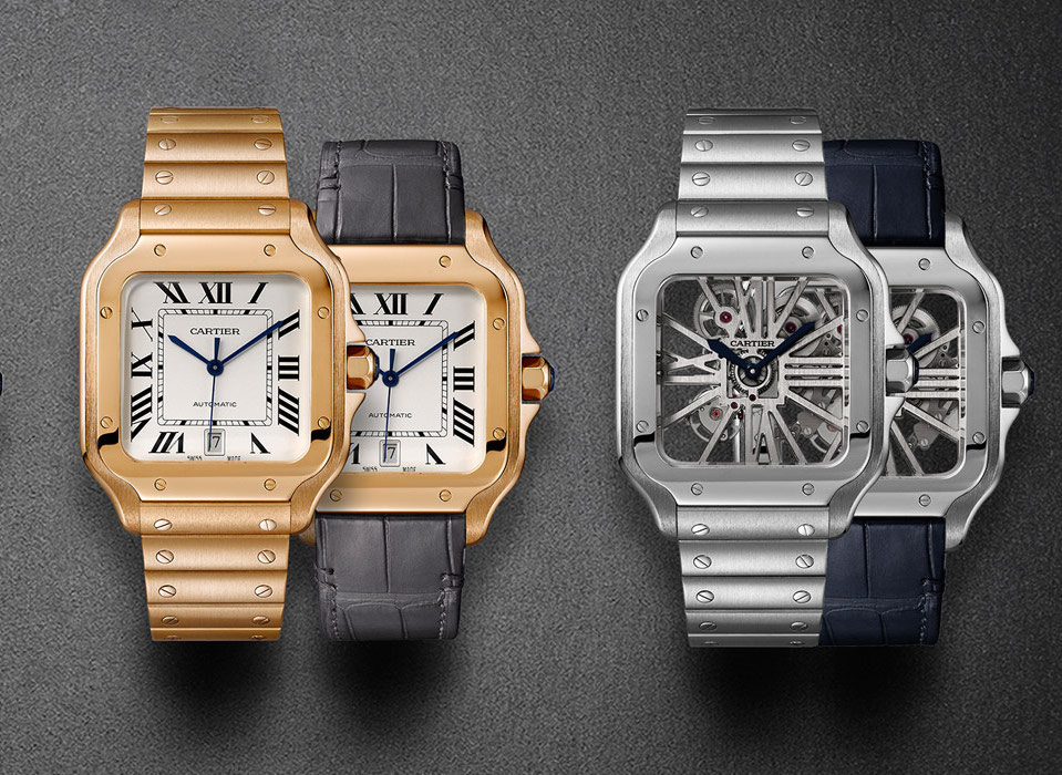 Best Watches of SIHH 2018: Cartier Santos