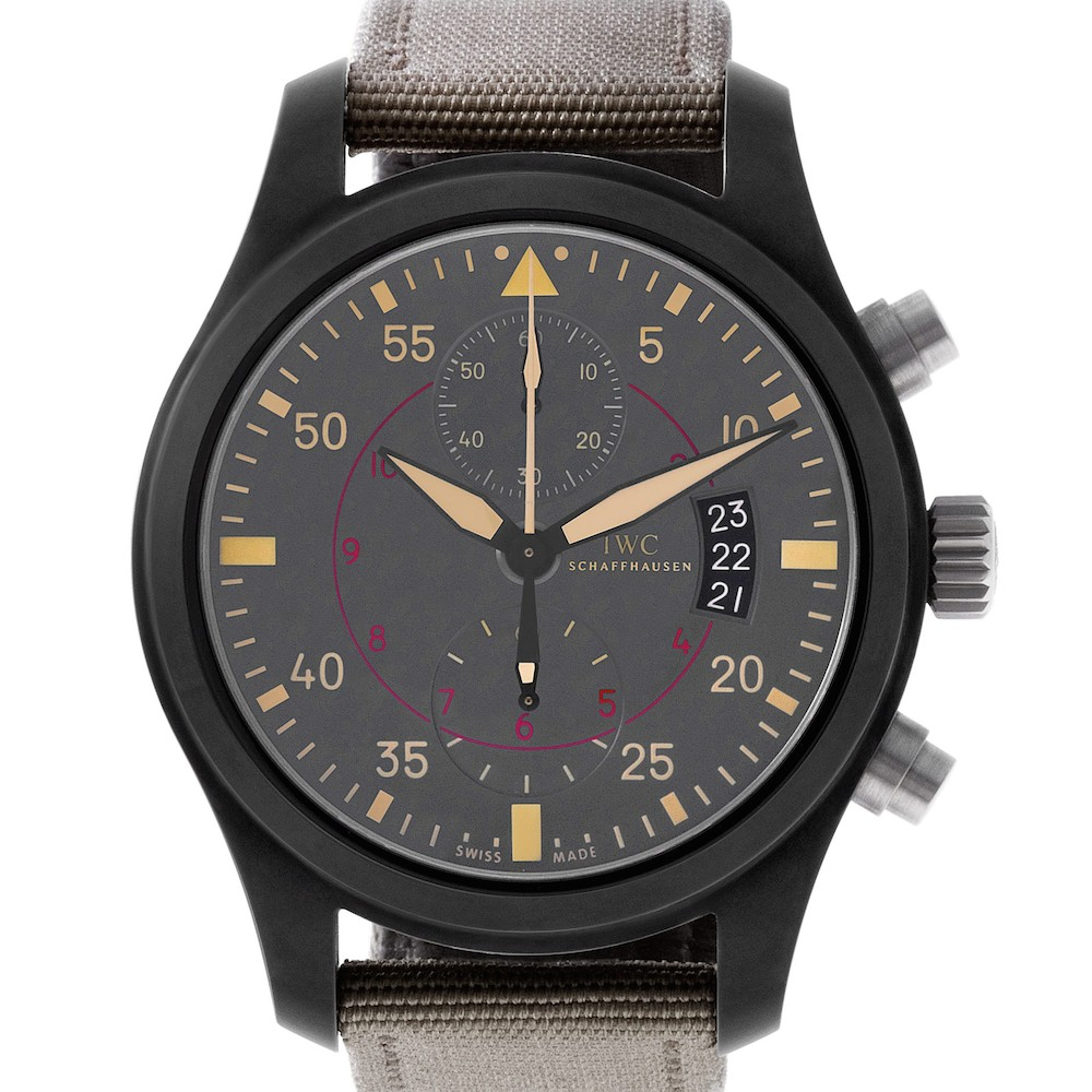 IWC Signature Watches: Pilot's Watch Chronograph TOP GUN Miramar