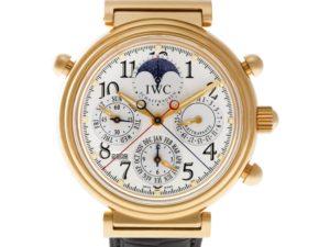 IWC Signature Watches: Da Vinci Rattrapante Perpetual Calendar
