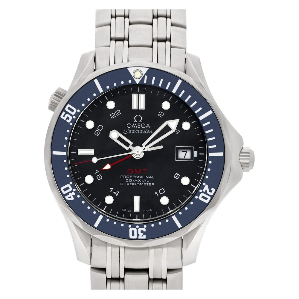 What is a GMT Watch Series; Omega Diver 300M Co-Axial GMT