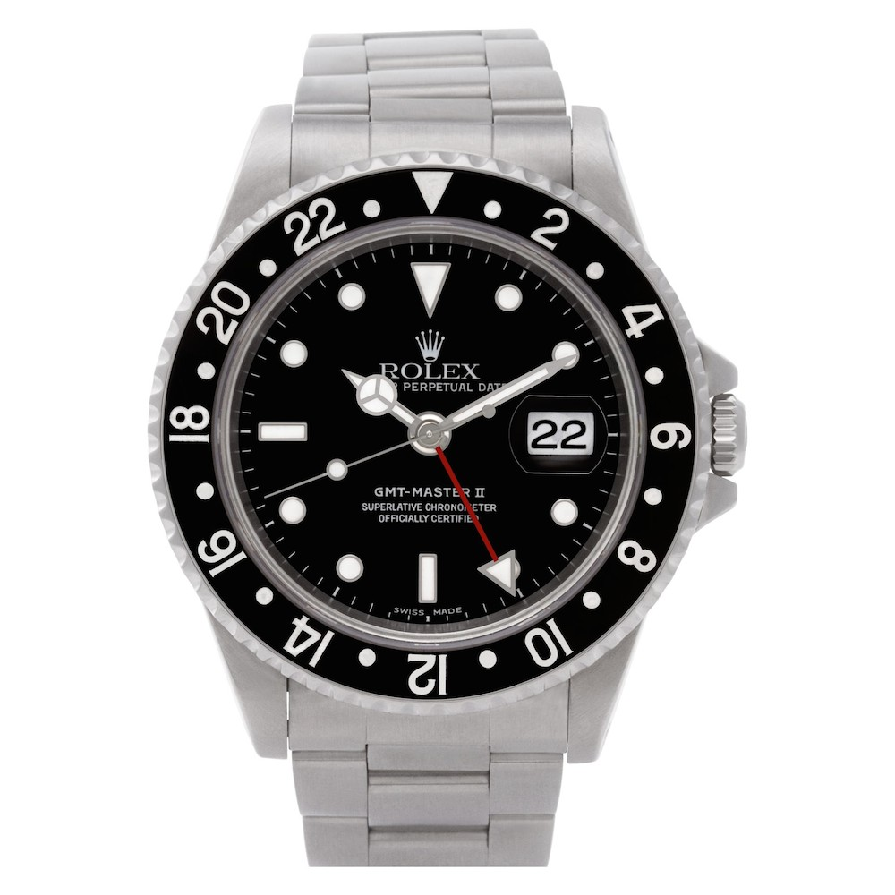 What is a GMT Watch: Rolex GMT-Master II 16710
