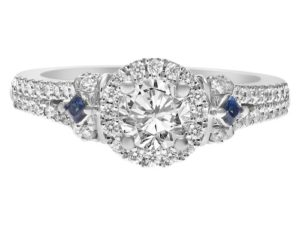 Designer Engagement Rings: Vera Wang Love