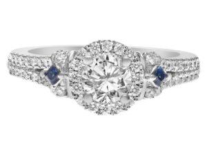 Designer Engagement Rings: Vera Wang Love