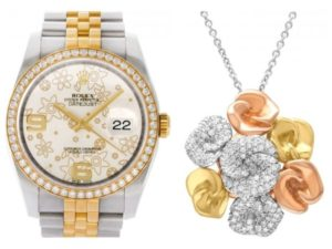 Floral jewelry and watches to celebrate spring