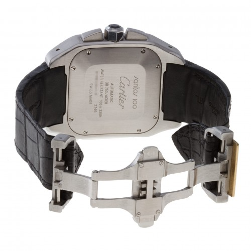 Groom Watches: Cartier Santos 100