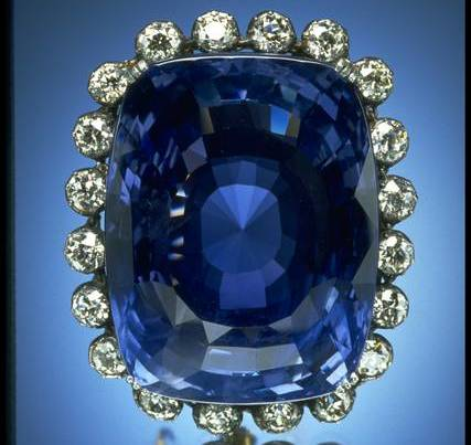 The Logan Sapphire Brooch, National Museum of Natural History, Washington DC