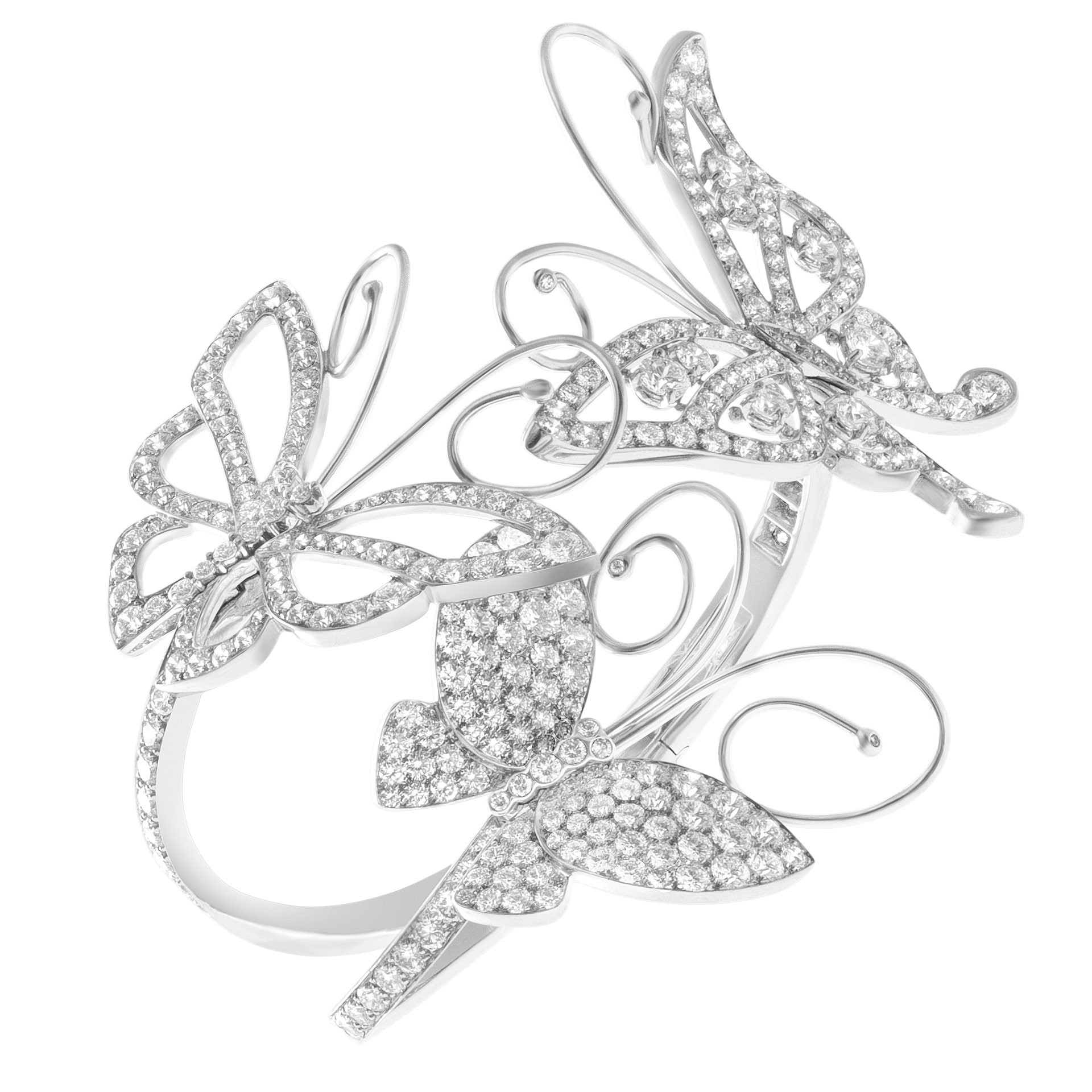 Butterfly Bracelet Cuff by Van Cleef & Arpels Jewelry