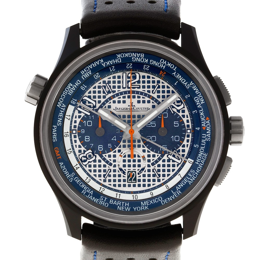 What is a World Timer watch: Jaeger LeCoultre Worldtimer 193.J.22