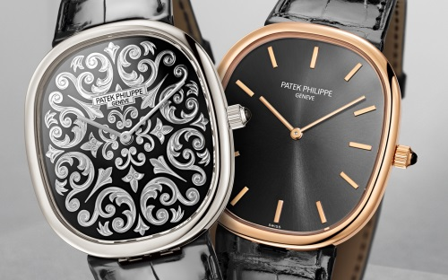 Patek Philippe Golden Ellipse 50th Anniversary Models