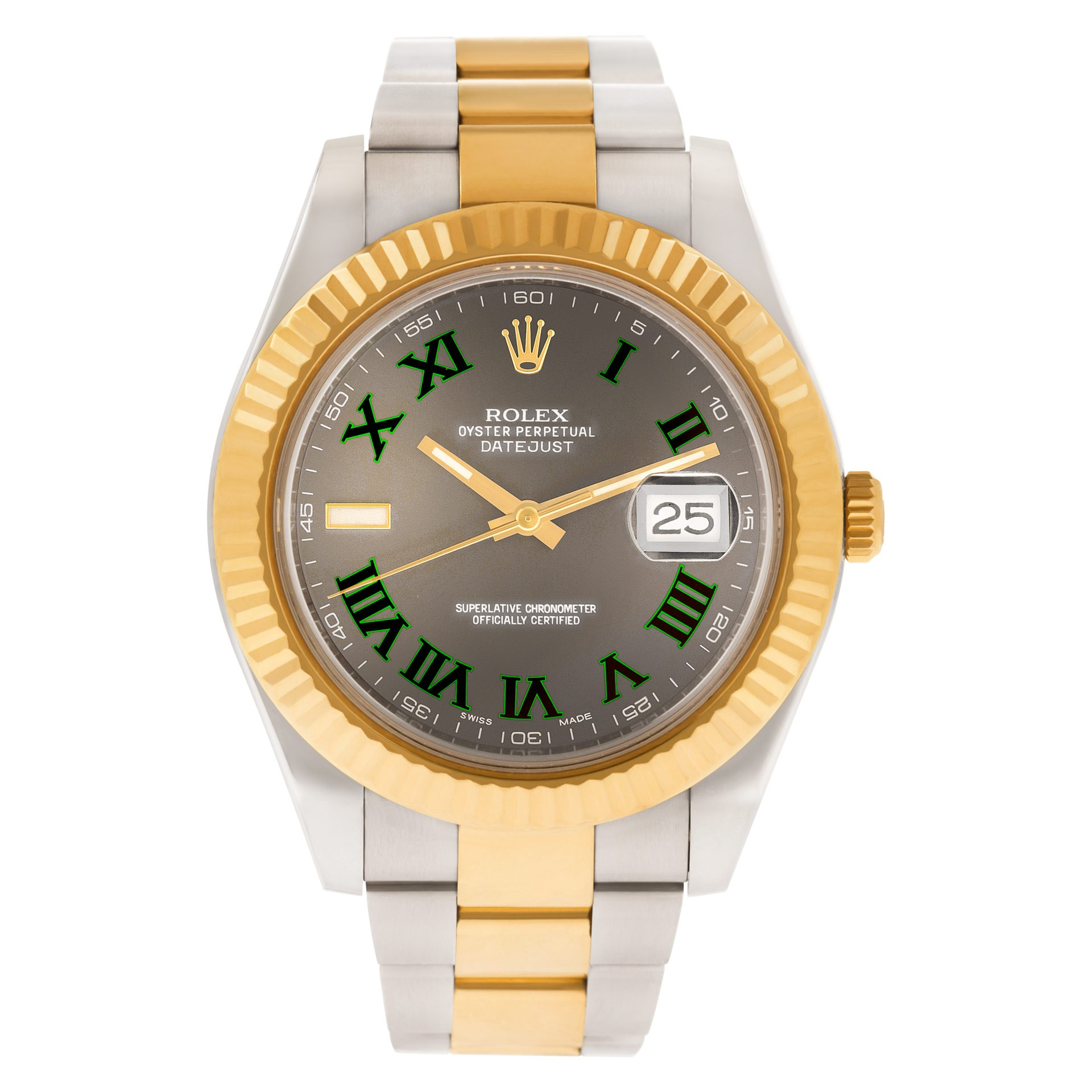 Green Rolex Watches: Datejust II 116333