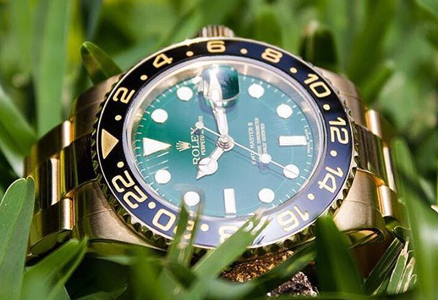 Green Rolex Watches: GMT-Master II 116718