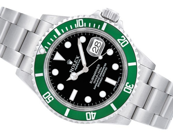Green Rolex Watches: Submariner 16610LV Kermit