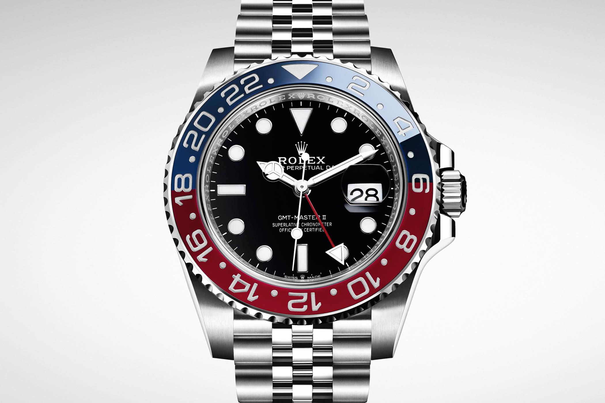 New Rolex GMT-Master II Pepsi ref. 126710 BLRO