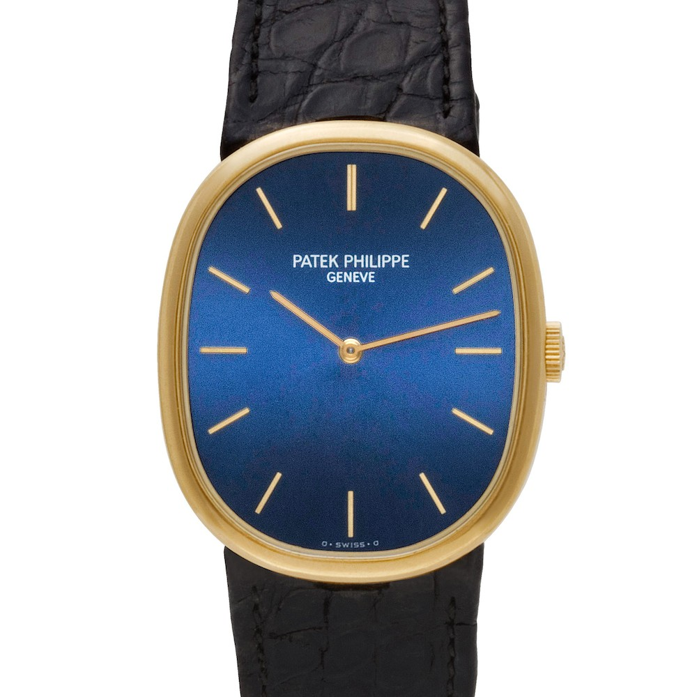 The Patek Philippe Golden Ellipse watch draws inspiration from the golden ratio