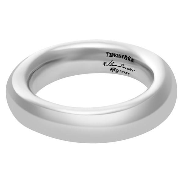 Pre-Owned Silver Tiffany & Co. Elsa Peretti Doughnut Ring