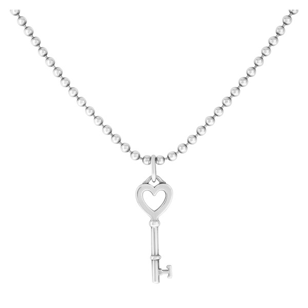 Treat yourself to pre owned silver tiffany co jewelry gray sons pendant pre owned silver tiffany co heart key tco aloadofball Image collections