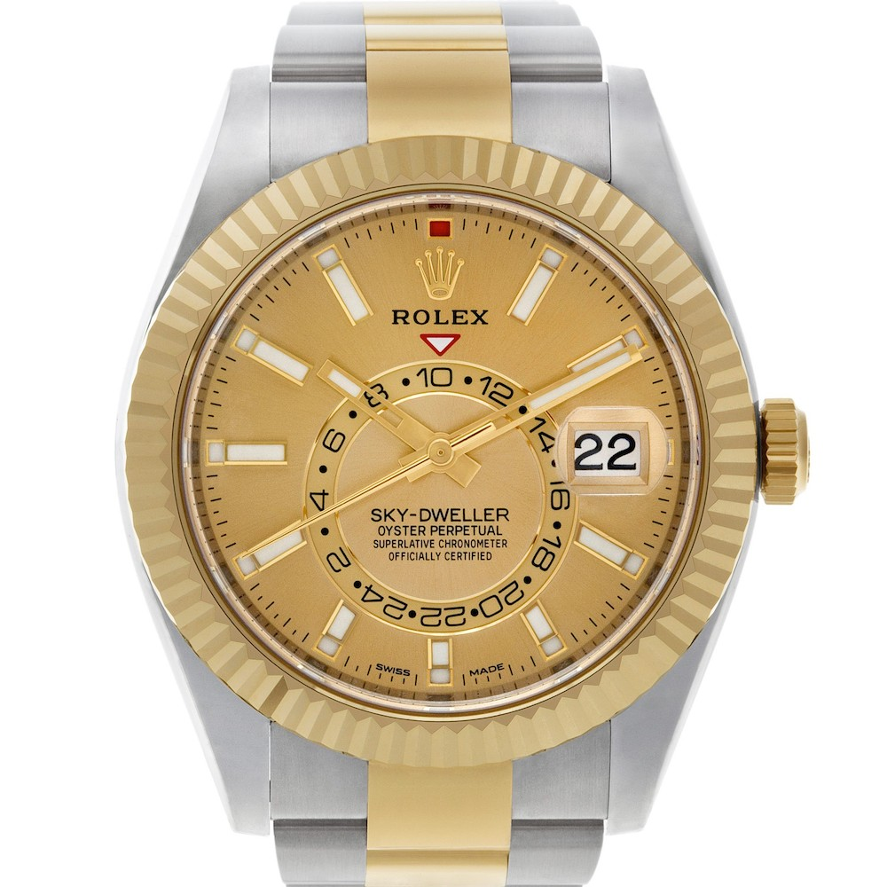 Best Two Tone Rolex Watches: Sky-Dweller 326933
