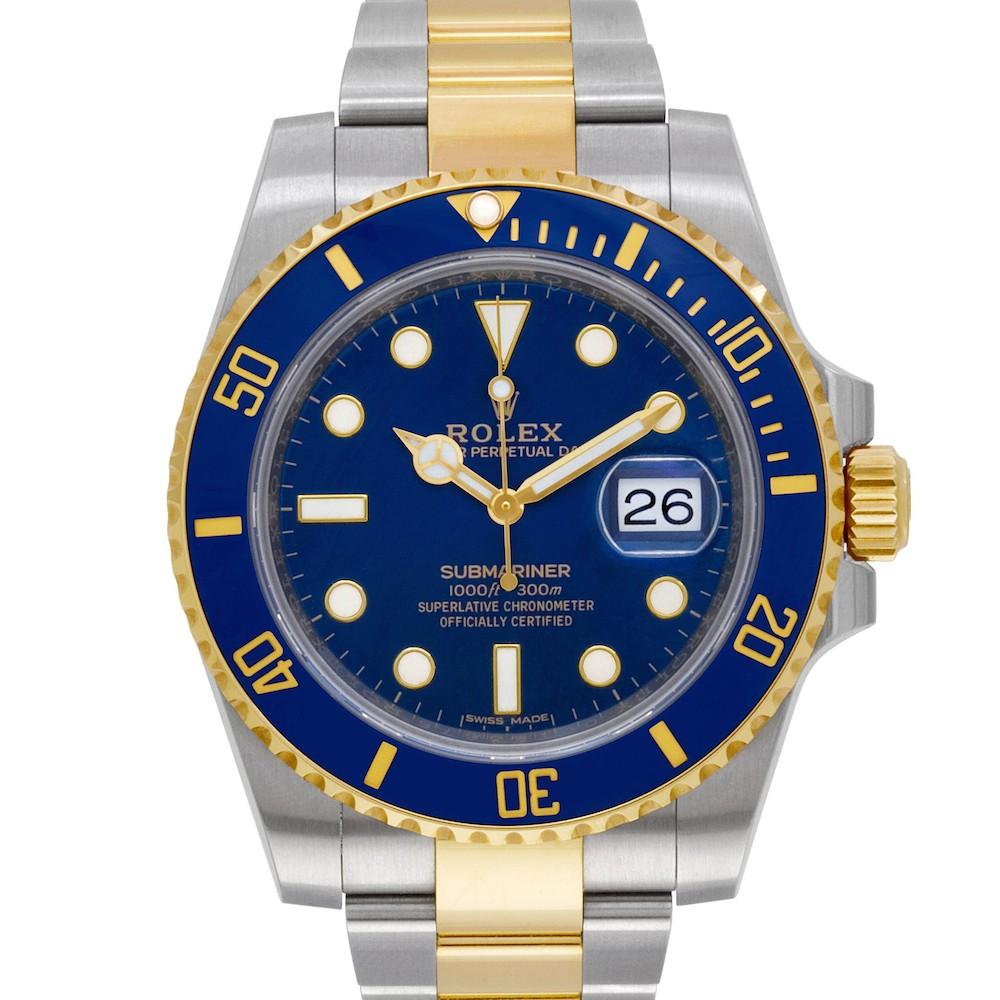 Best Two Tone Rolex Watches: Submariner 116613