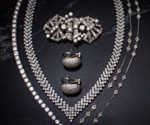 April Birthstone Diamond Jewelry