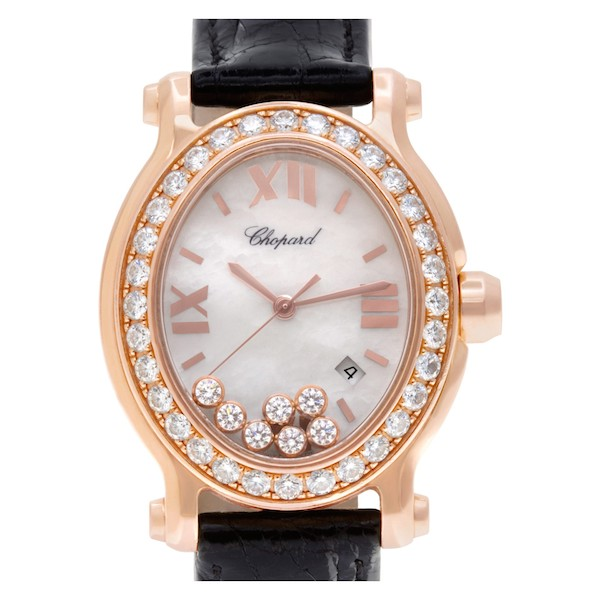 Women's Luxury Watches to Give this Mother's Day: Chopard Happy Sport