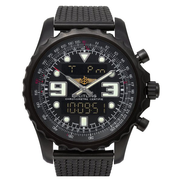 Large Luxury Watches for Men: Breitling Chrono Space m78365