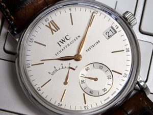 Large Luxury Watches for Men: IWC Portofino 5101-03