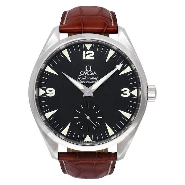 Large Luxury Watches for Men: Omega Railmaster XXL ref. 2806.52.37