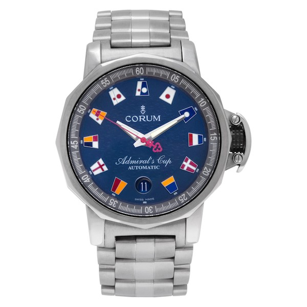 Nautical Watches for Men: Corum Admiral's Cup Trophy