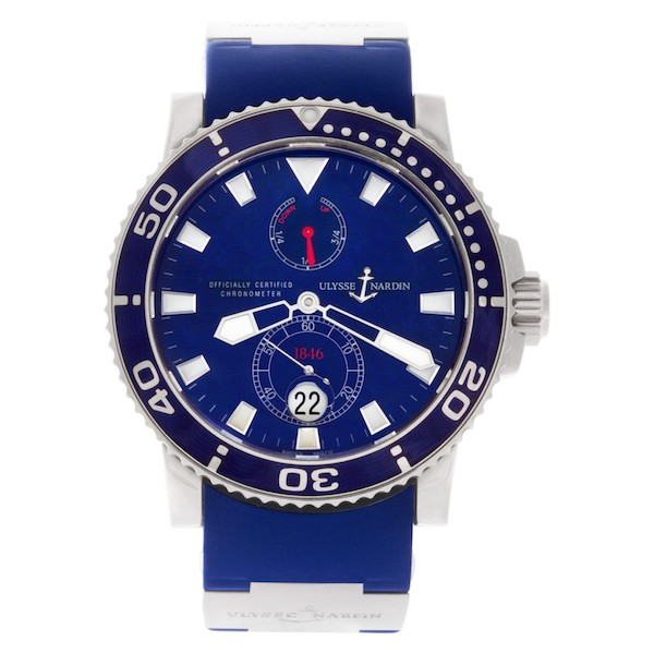 Nautical Watches for Men: Ulysse Nardin Maxi Marine Diver
