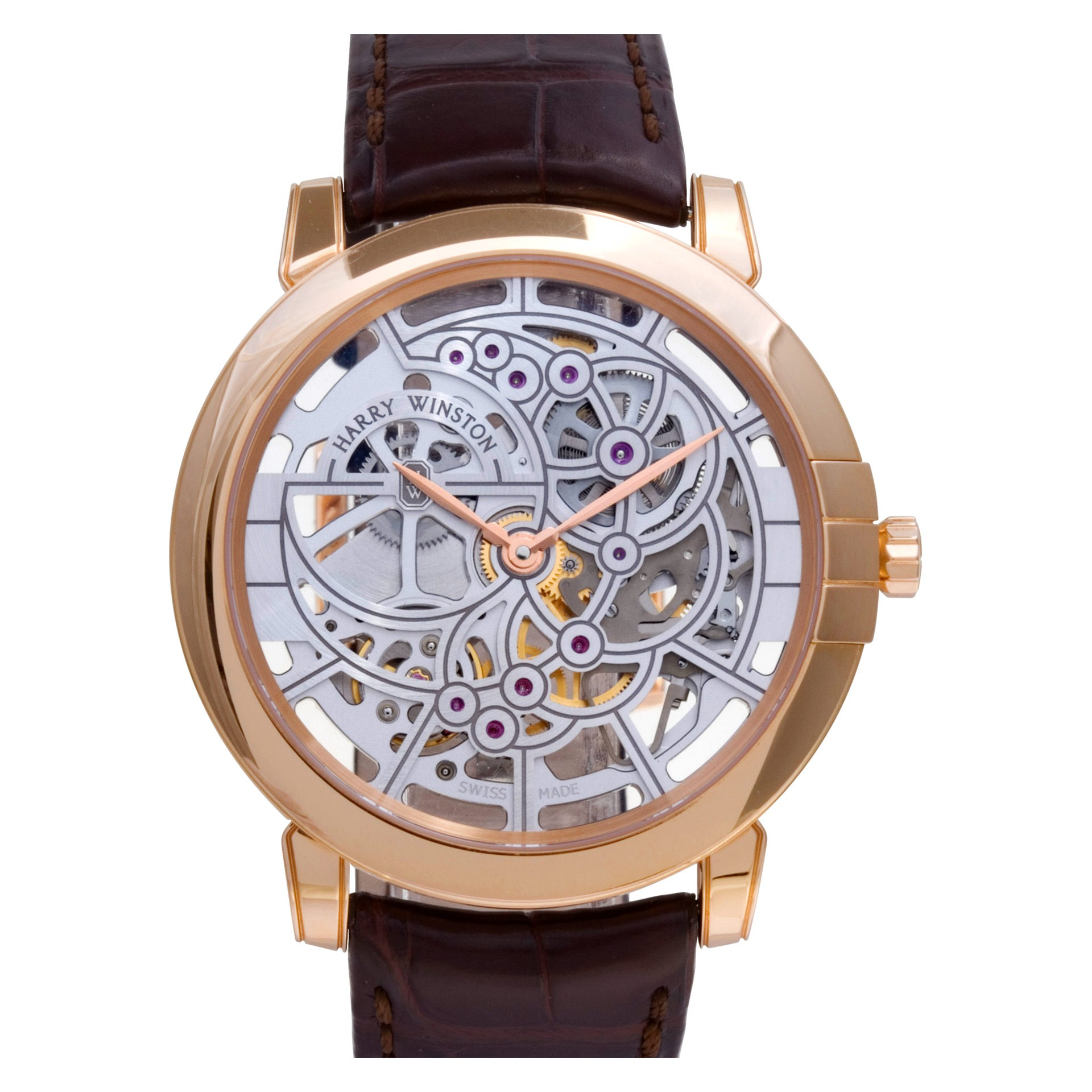 What is a Skeleton Watch? Harry Winston Midnight Skeleton