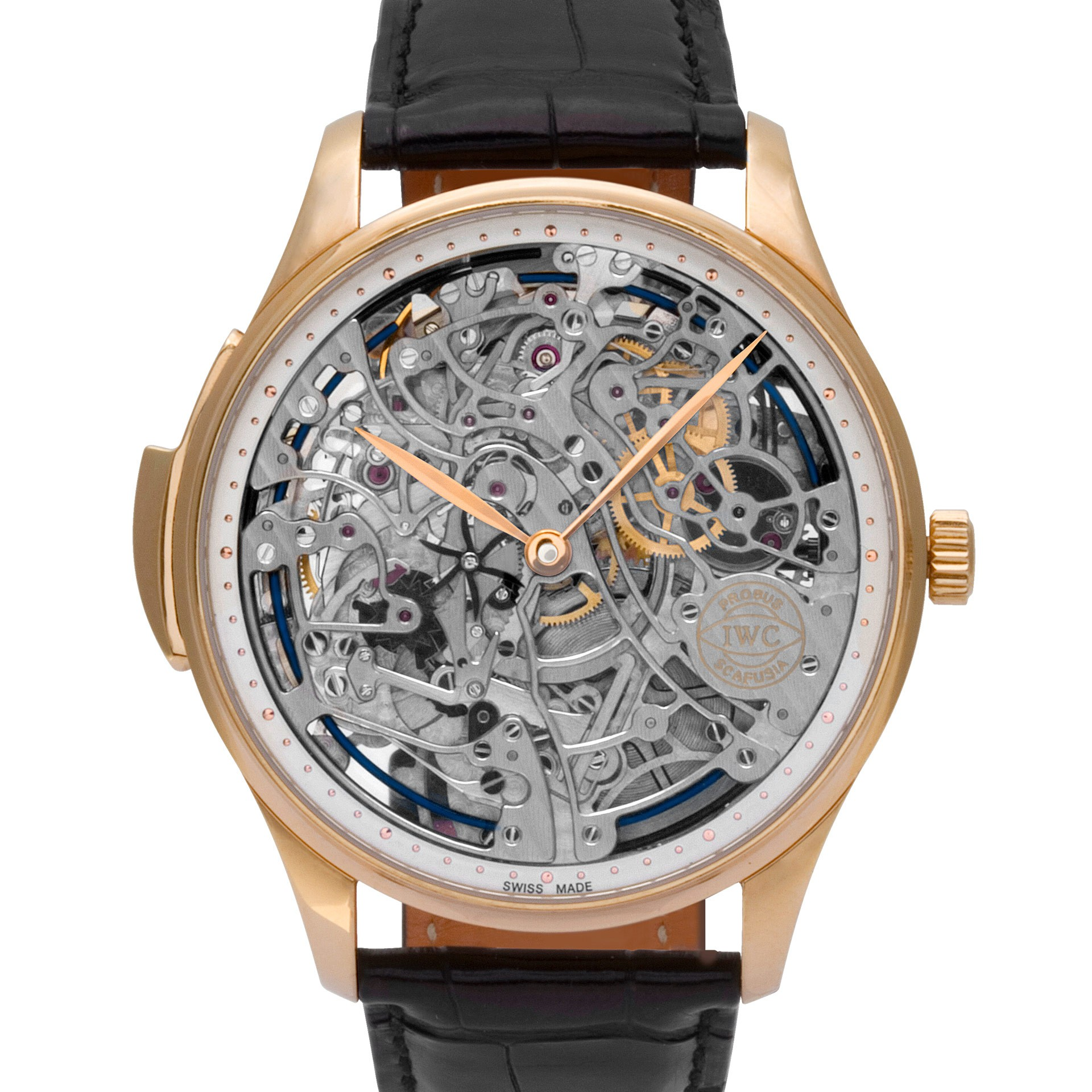 What is a skeleton watch? IWC Minute Repeater Skeleton