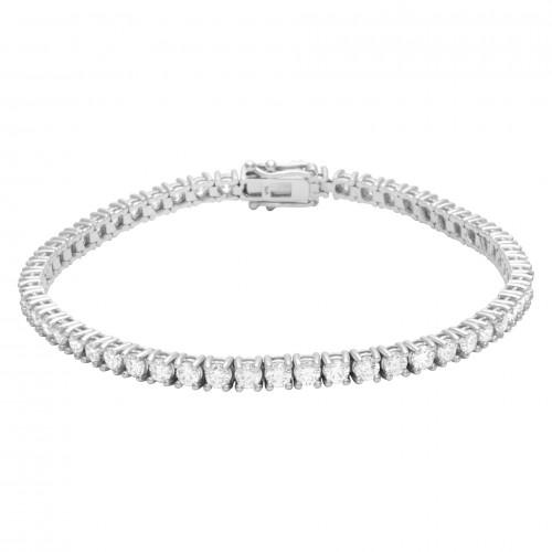 Diamond Bridal Jewelry: Diamond Tennis Bracelet