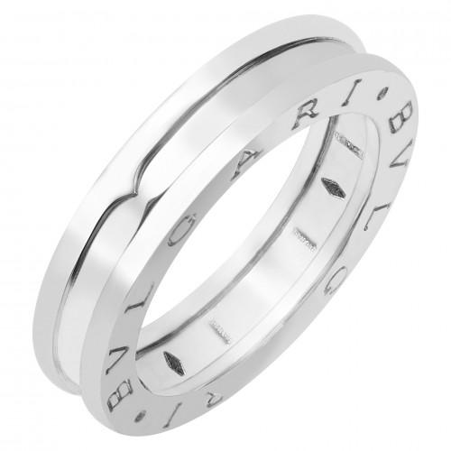 One Band White Gold Bulgari B.zero1 Ring
