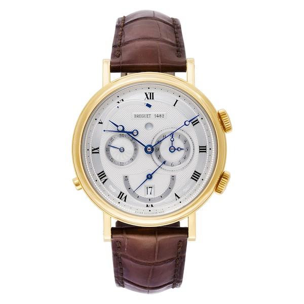 What is a power reserve indicator watch? Breguet Classique Réveil du Tsar 5707