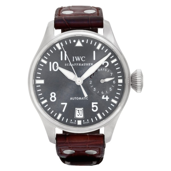What is a power reserve indicator watch? IWC Big Pilot iw500402