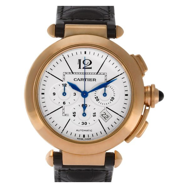 Best Rose Gold Watches for Men: Cartier Pasha Chronograph