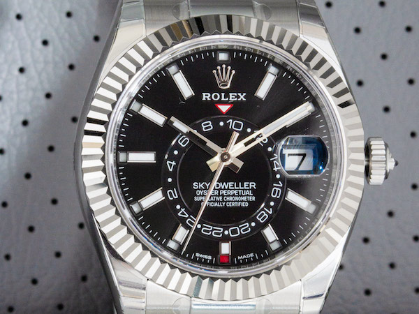 The More Affordable Rolex Sky-Dweller ref. 326934 in Stainless Steel