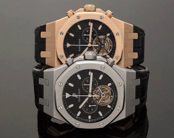 The Audemars Piguet Royal Oak is available with a variety of complications