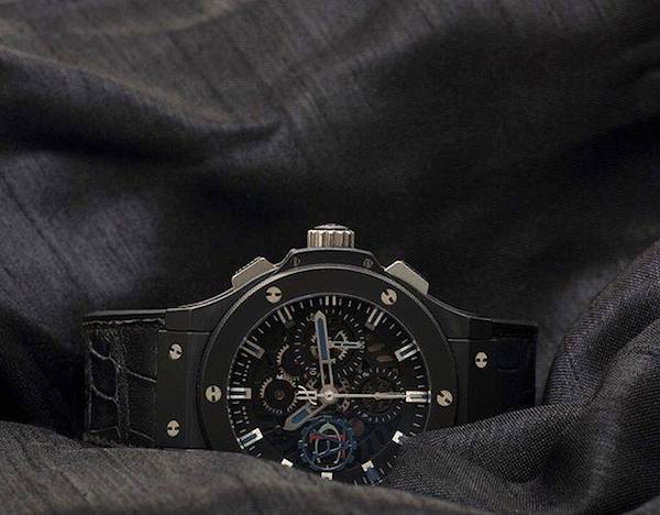 Ceramic Watches: Hublot uses ceramic often in their creations