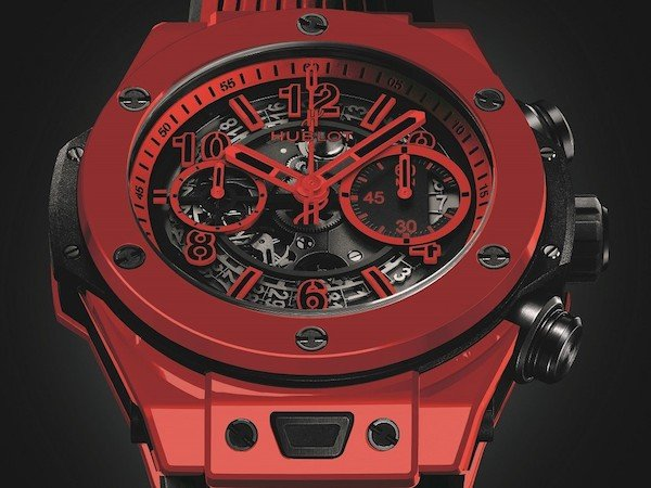 New for 2018, Hublot unveiled the very first all-red ceramic watch; the Big Bang Unico Red Magic