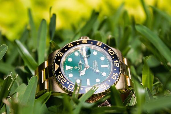 Cerachrom ceramic made its debut on the Rolex GMT-Master II 116718LN