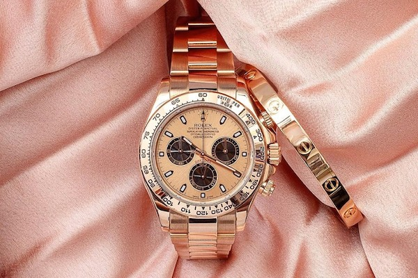 Everose rose gold Rolex Daytona